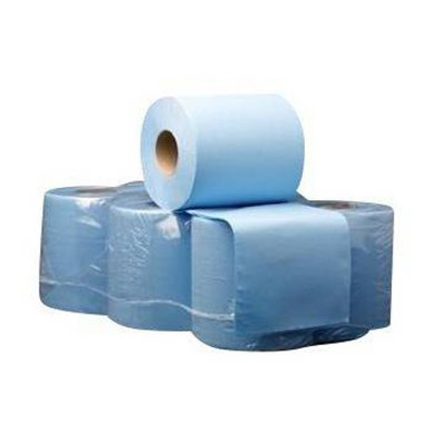 Bobina secamanos  Azul ECO 120m. Saco 6 unidades - 1