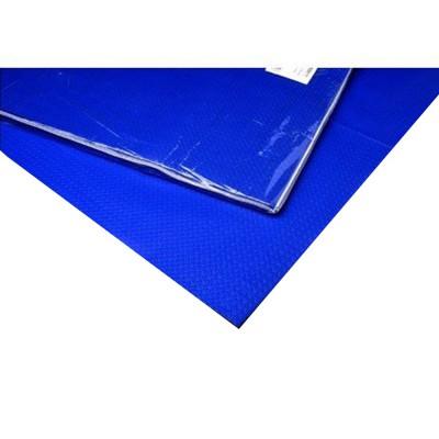 Mantel de papel Azul 48g 1x1m. Caja 300 unidades - 1