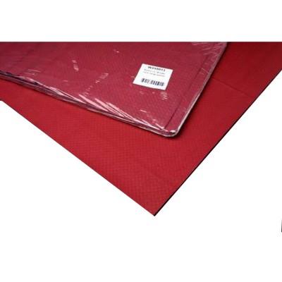 Mantel de papel Burdeos  48g 1x1m. Caja 300 unidades - 1
