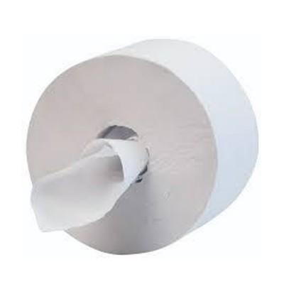 Rollo higiénico industrial central mini 145m. Saco 12 unidades - 1