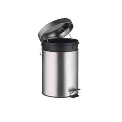 Papelera inox BIN c/pedal 12 litros - 1